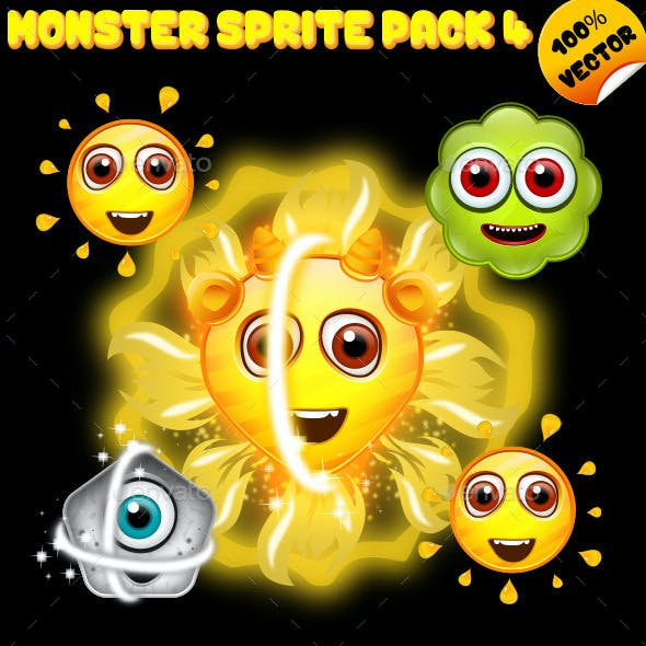Monster Sprite Pack 04