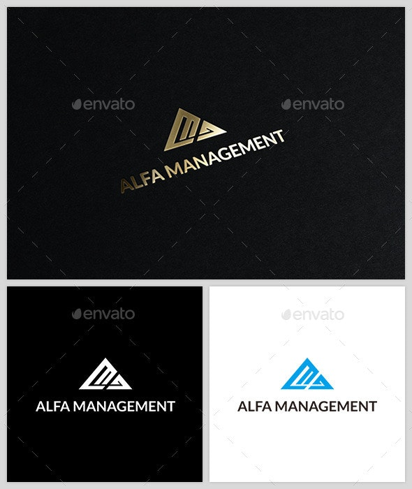 Alfa Management - Logo Template - Abstract Logo Templates
