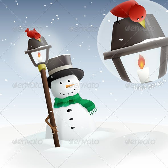 Winter Land : Snowman
