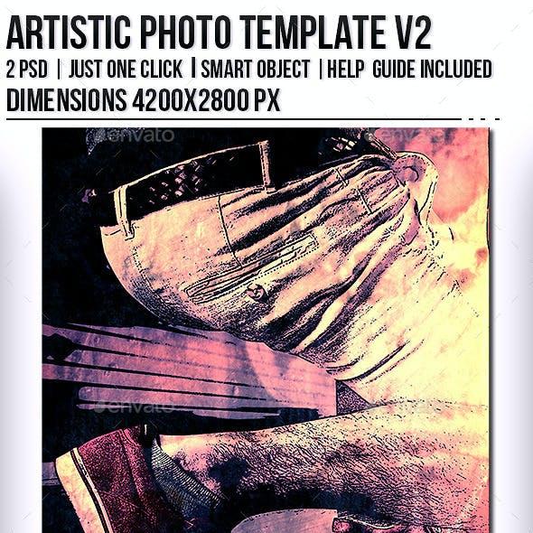 Artistic Photo Templates V2