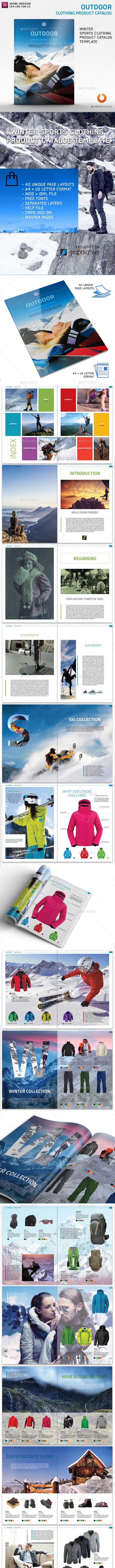 Clothing Product Catalog - Catalogs Brochures