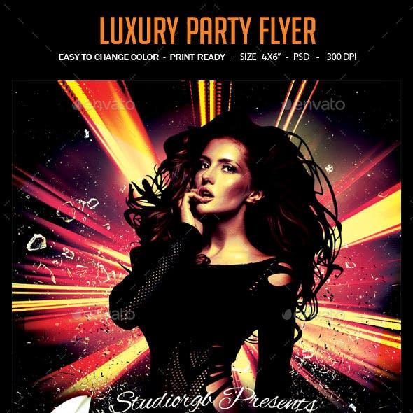 Luxury Party Flyer
