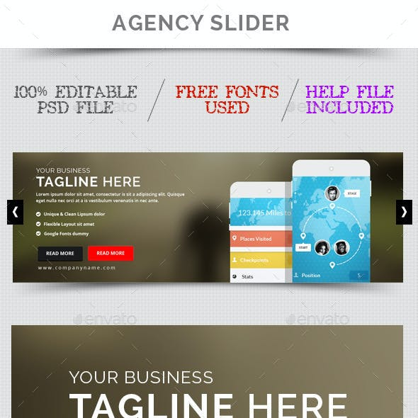 Creative Sliders & Feature Templates from GraphicRiver (Page 4)