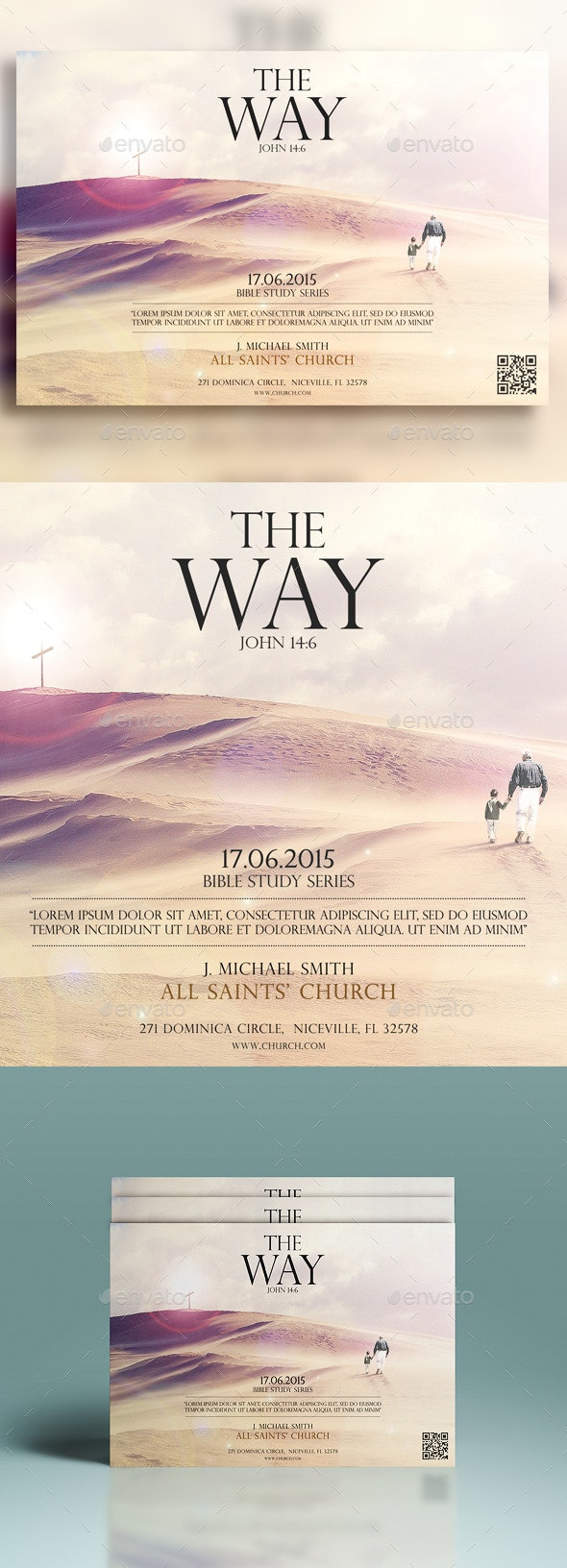 The Way Of The Spirit - Church Flyers
