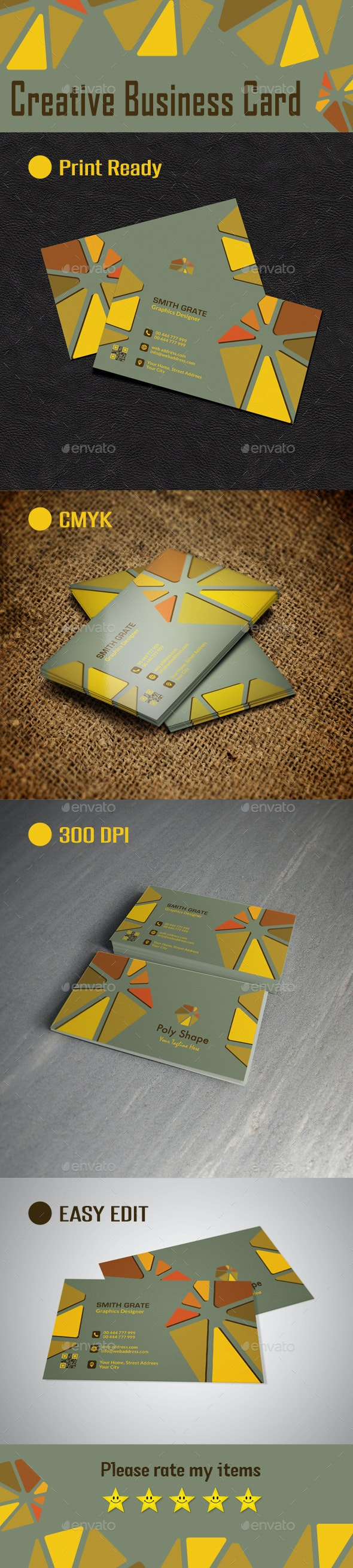 Creative Business Card - Business Cards Print