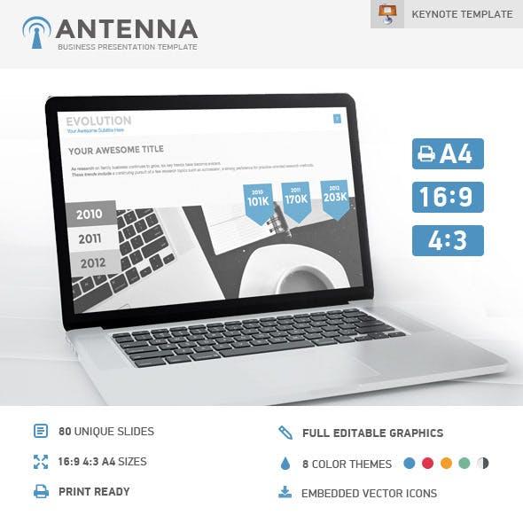 Antenna Keynote Presentation Template