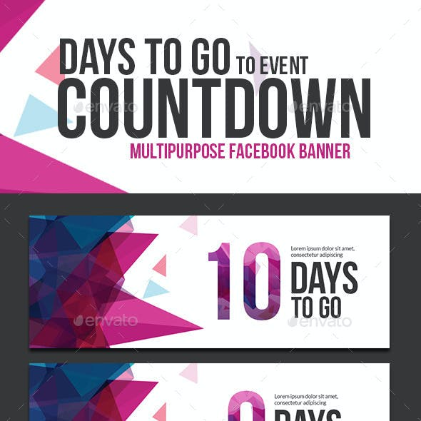 Days to go Countdown Banner
