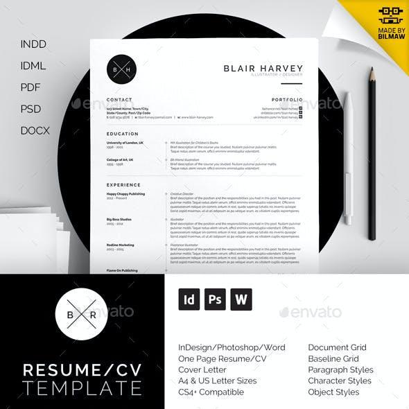 Resume/CV - Blair