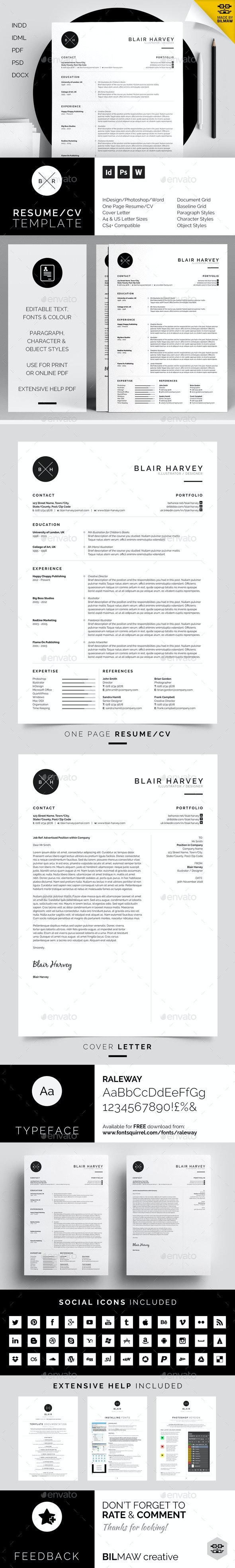 Resume/CV - Blair - Resumes Stationery