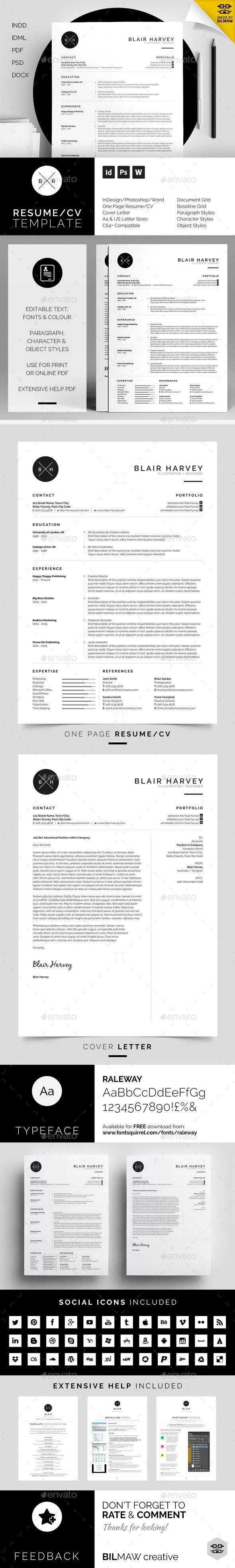 Resume/CV - Blair - Resumes Stationery