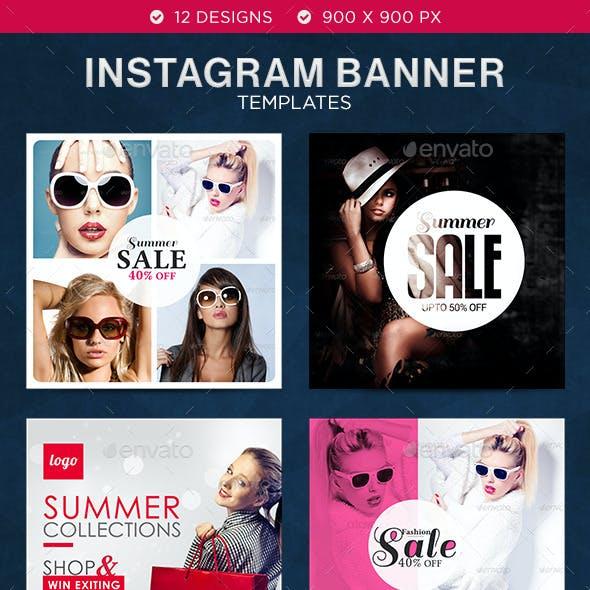 Sales Instagram Templates - 12 Designs