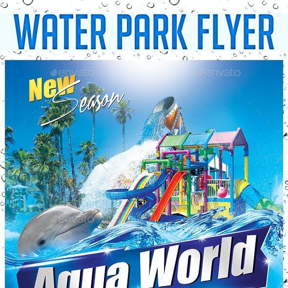 Water Park Flyer