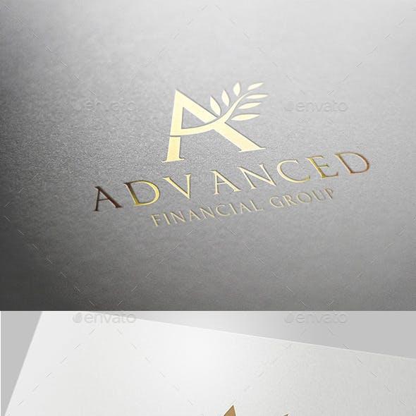 A letter Advance logo