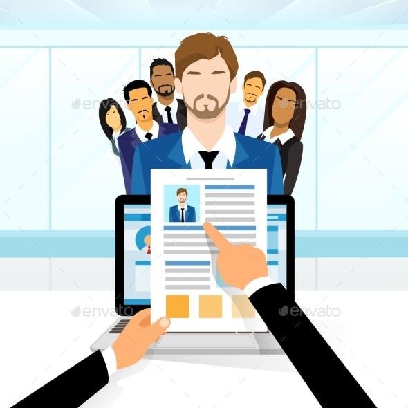 Curriculum Vitae Recruitment Candidate Job