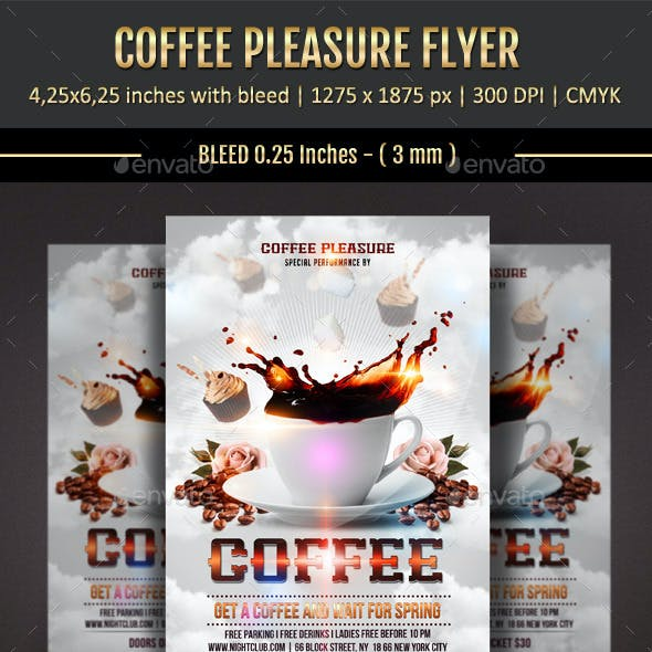 Coffee Pleasure Flyer