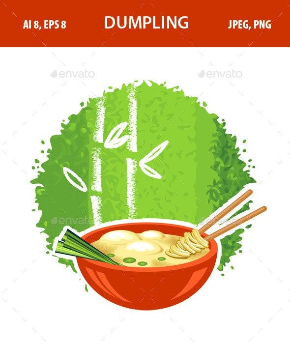 Dumpling - Food Objects