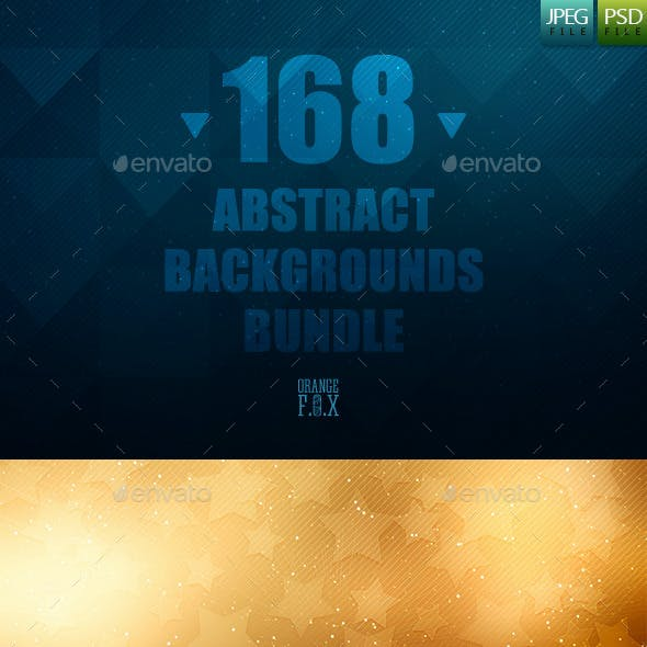 168 Abstract Backgrounds Bundle