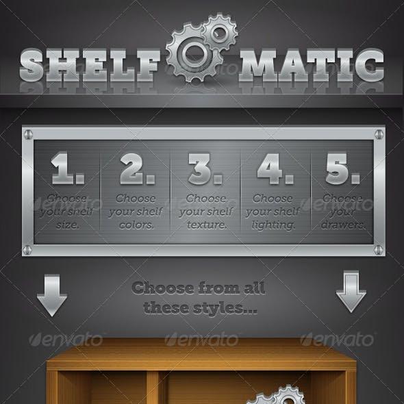 Shelf O' Matic - Vector Shelf Maker