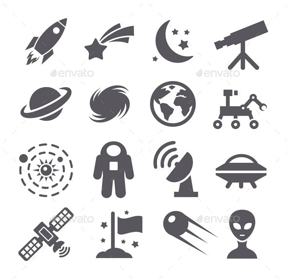 Space Icons - Miscellaneous Icons