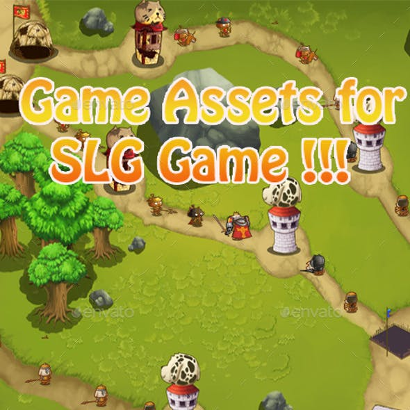 Cute SLG Game Assets