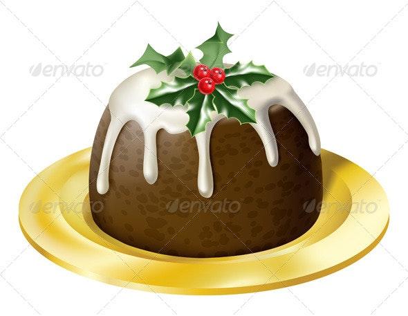 Christmas Pudding - Christmas Seasons/Holidays