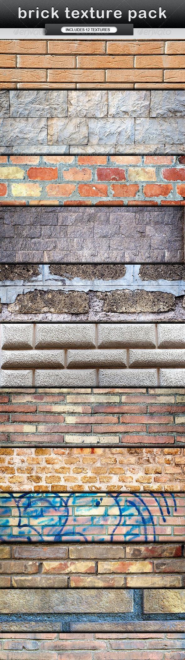 Brick Texture Pack - Stone Textures
