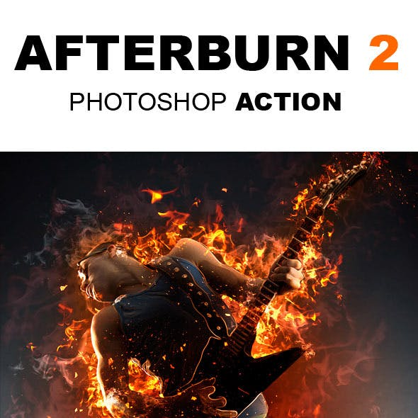 AfterBurn 2 Photoshop Action