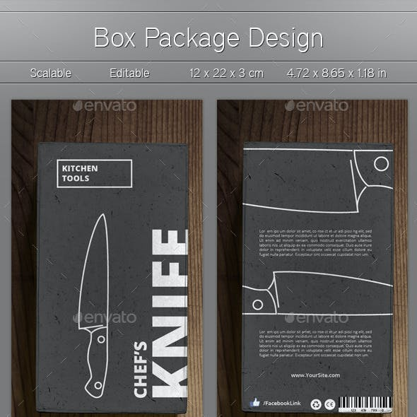 Product Box Design