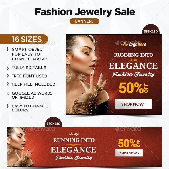 Fashion Jewelry Banners