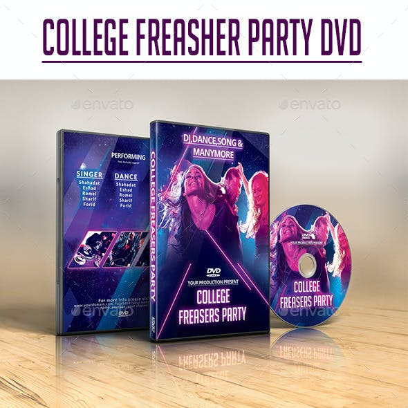 Freasher Party DVD Cover.