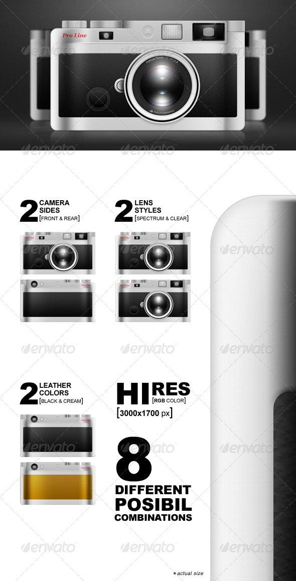 Compact Camera - Illustrations Graphics