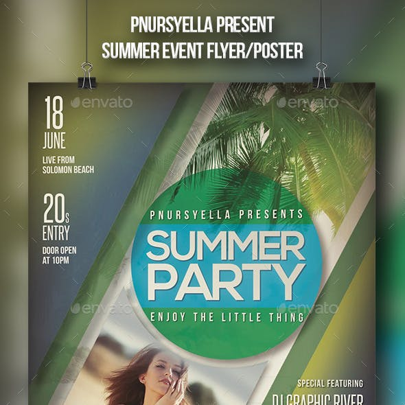 Summer Event Flyer / Poster