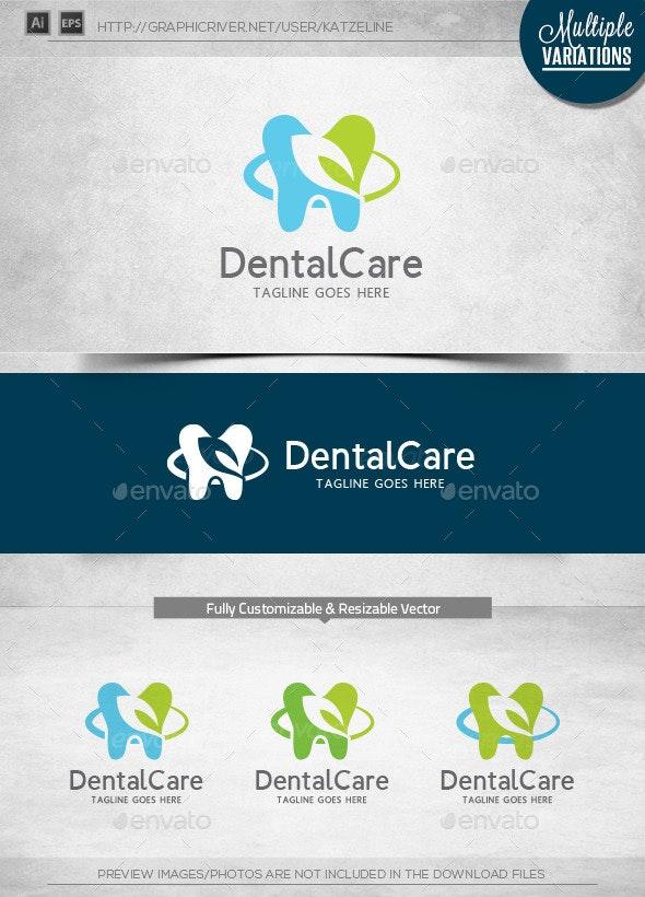 Dental Care - Logo Template - Humans Logo Templates