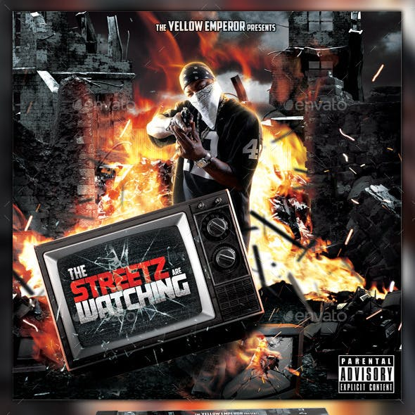 Mixtape Cover Graphics, Designs & Templates from GraphicRiver
