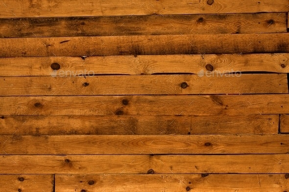 Rough Wooden Fence - Wood Textures
