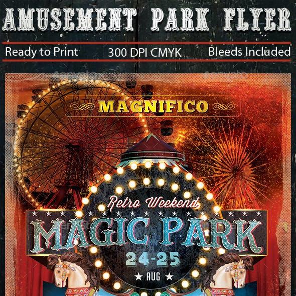 Amusement Park Flyer v2