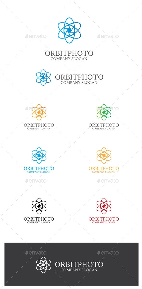 Orbitphoto - Symbols Logo Templates