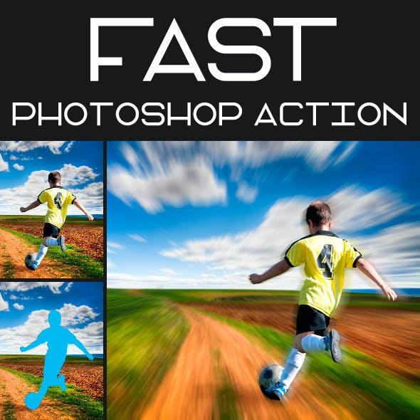 Fast Photoshop Action