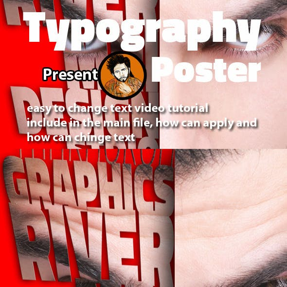 Typography Poster Action