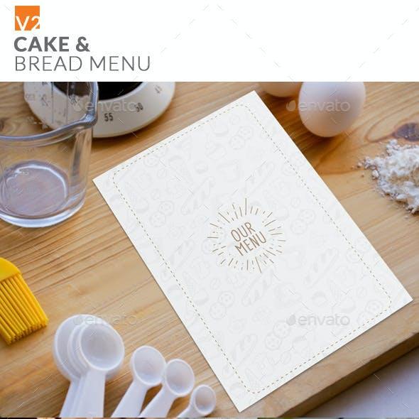 Cake & Bread Menu v2