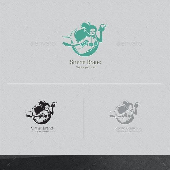 Sirene Brand Logo Template