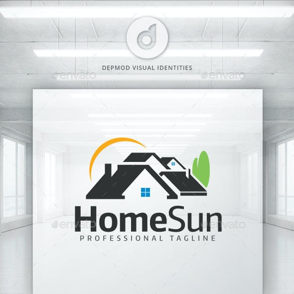 Home Sun Logo