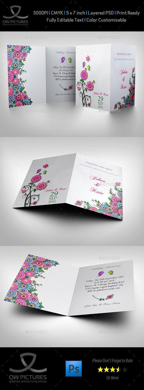 Wedding Invitation Card Template Vol.11 - Weddings Cards & Invites