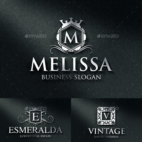 Luxurious Elegant Vintage Boutique Logos