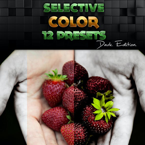 Selective Color Presets (Dark Edition)