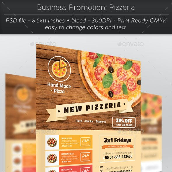 Business Promotion: Pizzeria