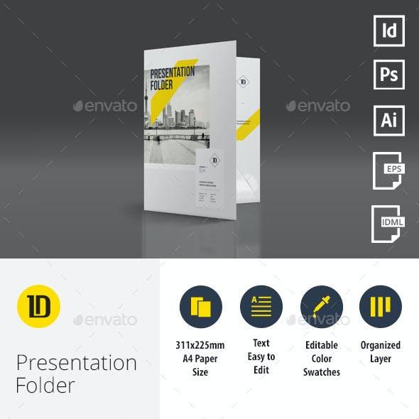 A4 Multipurpose Presentation Folder 004