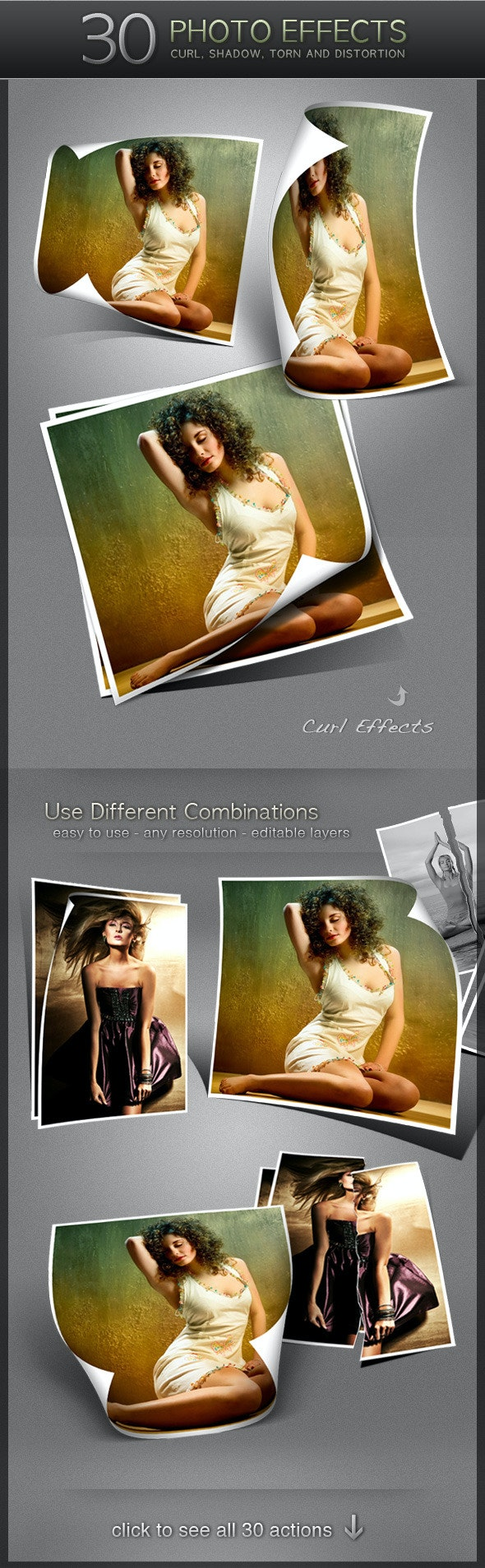 30 Photo Effects - Utilities Actions