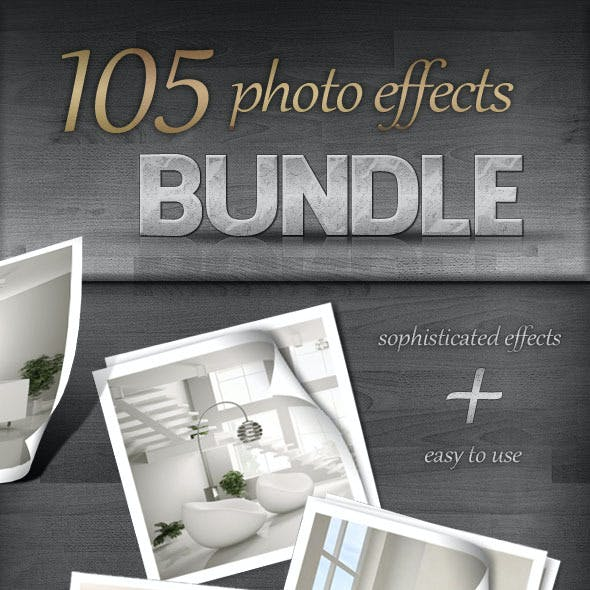 105 Photo Effects - Bundle