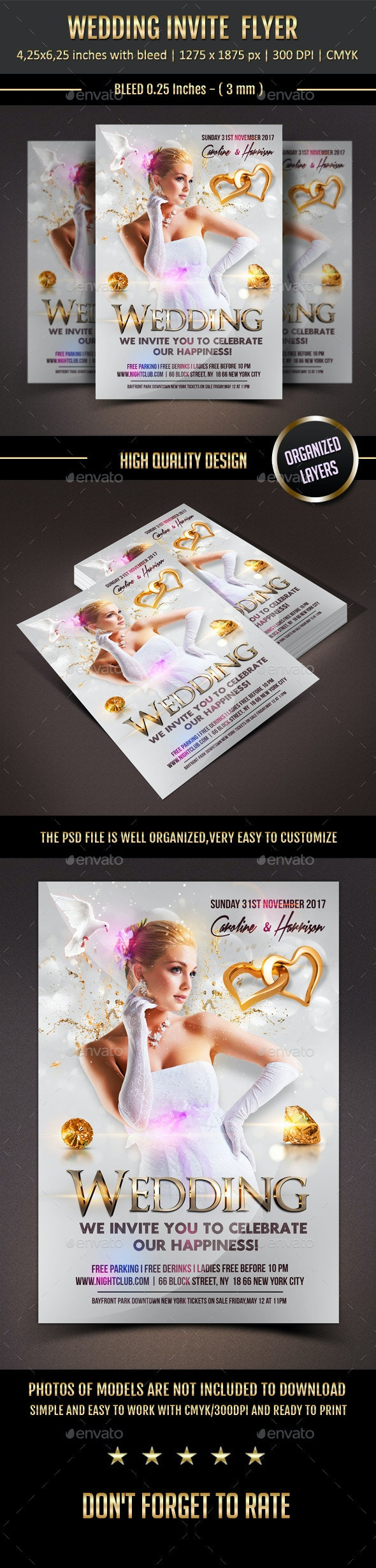 Wedding Event Flyer - Events Flyers